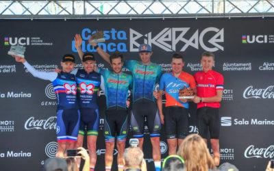 Prima vittoria 2020 per le biciclette Protek: Becking e Ferreira trionfano alla Costa Blanca Bike Race
